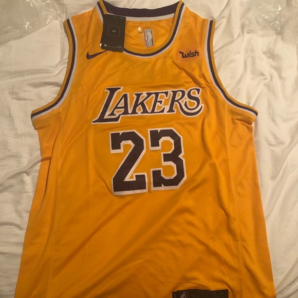 6df35d5adbe Brand New 2019 Lebron James Lakers Jersey
